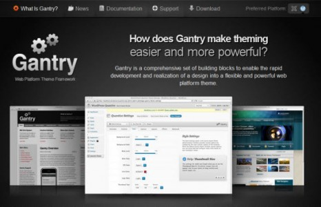 Gantry-wordpress-framework