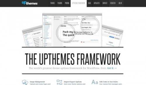 UpThemes Framework-wordpress