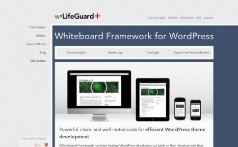 Whiteboard-wordpress-framework